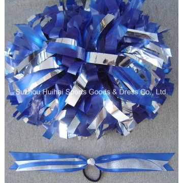 Silver Mix Plastic Royal POM POM