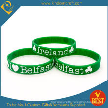 Tourism Scenics Promotional Fashion Rubber Silicone Wristband (LN-032)