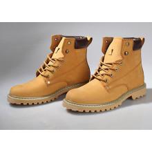 Os homens feitos sob encomenda da fábrica SD00077 vestem sapatas das sapatas com parte superior de couro