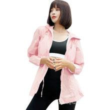Ladies Upf40 + UV Protection Quick-Drying Light Jacket