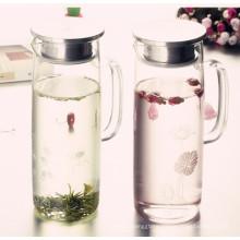 Eco-Friendly Glass Water Pot, Glass Water Kettle, Glass Water Bottle Water Jug