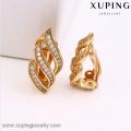 90694-Xuping bijoux en gros Femme 18KGold Plaqué Boucle d'oreille