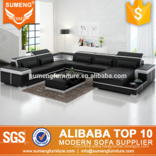 SUMENG 2017 very cheap furniture sofa with LED light