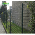 PVC+Coated+Triangle+Bending+Welded+Metal+Fence