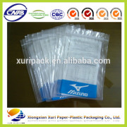 accept custom order transparent reseable stand up pouch with zipper aluminium foil inside for underwear package