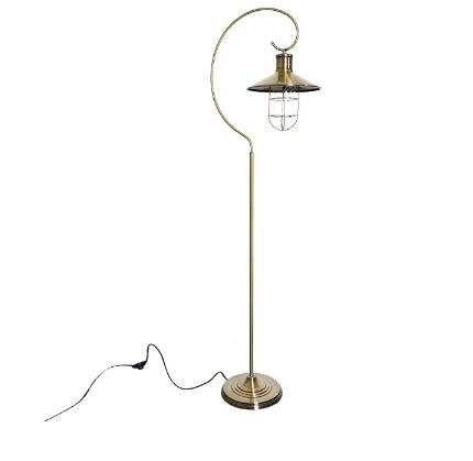 Metal vintage lantern led floor lamp