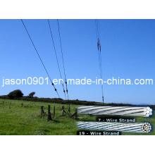 Hot Dipped galvanizado fio de aço para ACSR
