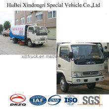 5cbm De Buena Calidad Multifunción Dongfeng Road Sweeper Camión Euro 3