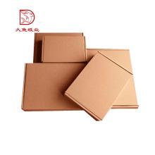 Boîte faite sur commande d'emballage de pièces d'auto de conception de papier recyclable