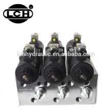 motor hidráulico sistema de válvula de controle de ferro fundido ac unidades de energia hidráulica