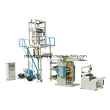 High Speed PE Film Blowing and Flexographic Printing Line