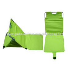 High Quality Foldable Beach Mat Seat, OEM Orders are Welcome