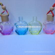 forme de pomme colorée arôme voiture parfum