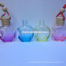 perfume colorido do carro do aroma da forma da maçã
