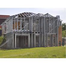 Fast Installation Light Steel Prefabricated Villa for Living