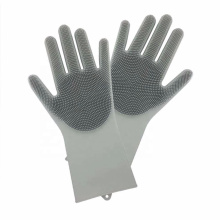 Pets Grooming Floor Silicone Cleaning gloves
