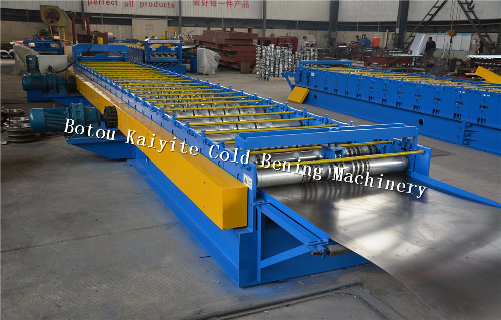 galvanized floor decking roll forming machine