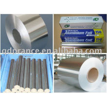 Emballage flexible feuille d'aluminium