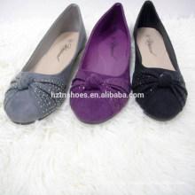 China-Ballett-Ebenen Schuhe Mädchen flache Damen Pumpe Schuhe Großhandel