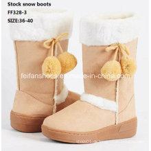 Neueste Injektionsstiefel High-Cut Bequeme Schneeschuhe Winterstiefel Stock Schuhe (FF328-3)