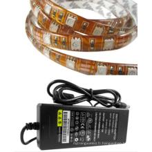 Transformateur de bande LED DC12V souple imperméable à l'eau