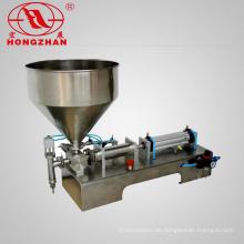 Chinesische Lieferanten 200ml Pneumatische Flüssige Creme Füllmaschine