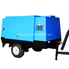 Movable 55KW Electric Screw Air Compressor