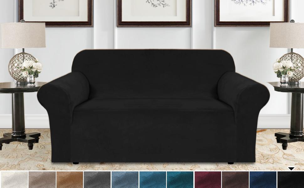 Velvet Plush Sofa Covers