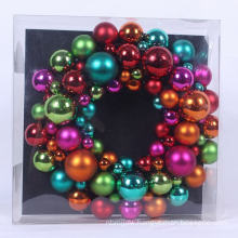 30cm Diameter Small Hanging Ball Wreath Decoration