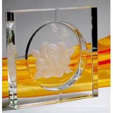 Nouveau cendrier en verre de cristal de la Chine de mode (JD-YG-008)
