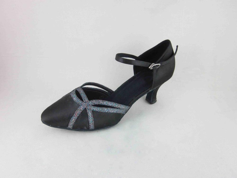 3 Inch Heel Black Dance Shoes