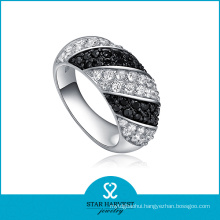 Vintage Style Silver CZ Jewelry Ring (SH-0069R)