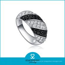 Vintage estilo prata CZ jóias anel (SH-0069R)