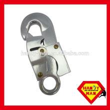 Crochet de sécurité en acier forgé à fermeture renforcée pour sécurité industrielle