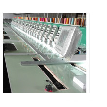 Multi Heads Metal Embroidery Machine for Fabric with 12 Colors
