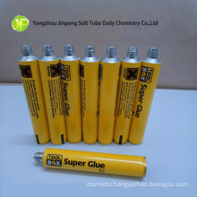 Aluminum Squeeze Tube for Super Glue