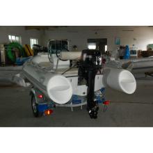 2014 RIB360 lancha inflable con casco rígido motor