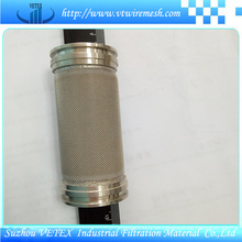 Hitzebeständiger und verschleißfester Edelstahl-Filterzylinder
