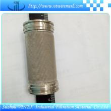 Cilindro de filtro de acero inoxidable resistente al desgaste y resistente al desgaste