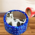 Round Cat Scratch Bed