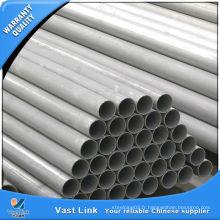 Tuyau soudé ASTM TP304 en acier inoxydable pour construction