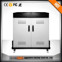 Profissional de 40 portas lapto de carregamento do trole SPCC gabinete de carregamento para dispositivos móveis