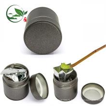 Boîte faite sur commande de bidon de thé de Matcha du logo 30g, boîte hermétique de thé de Matcha