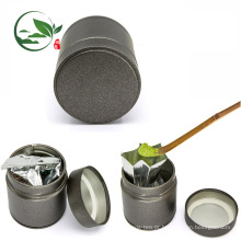 Lata de lata feita sob encomenda do chá de 30g Matcha do logotipo, vasilha hermética do chá de Matcha