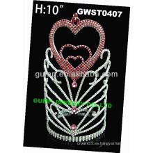 Día de fiesta corazón tiara -GWST0407