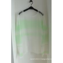 Sweat tricot à manches longues pour printemps et automne pour femmes