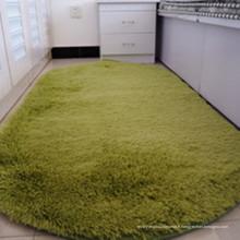 tapis circulaire moelleux et tapis de sol