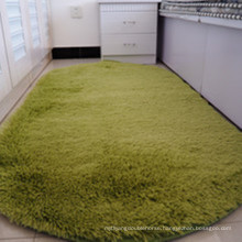 thickened circular bedroom fluffy carpet and floor mat