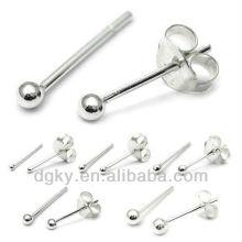 Boucle d'oreille en bouche en acier chirurgical Piercing