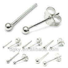 Surgical Steel Ball Ear Earring Piercing